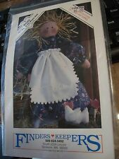 """Finders Keepers - Biddy 15"""" Goody No Shoes Doll  Craft Pattern Uncut"""