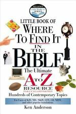 Nelson's Little Book of Where To Find It in the Bible ( Anderson, Ken ) Use