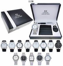 10 x Wholesale Joblot of Men's Gift Sets. Job lot of men Gift Watch Sets -10 Set