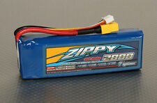 Zippy Flightmax 2800mAh 3S 11.1V 30C Lipo Battery Pack RC XT60 XT-60 Plane Heli