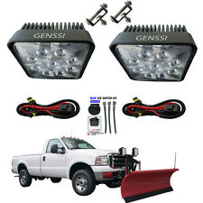 LED TRUCK LITE SNOW PLOW LIGHT KIT W/ HARNESS Plow Light Kit 2x Lamps