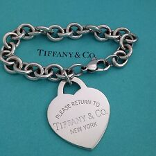 Tiffany & Co  Xl  Extra Large Return To Heart Bracelet Authentic
