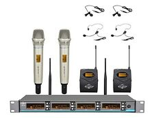 4CH UHF Digital Pilot Wireless Handheld/Headset Mic System ATL-AUDIO UGX4ⅡHL