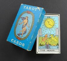 VTG Pre-USG © Rider Waite Tarot Cards Deck Blue Box Edition Rider & Co London