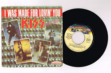 "KISS ""I WAS MADE FOR LOVIN' YOU"" FRENCH  7"" VERY RARE"