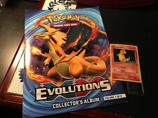 2016 Pokemon Charmander Foil Toys R US Promo Card & Evolutions Album!