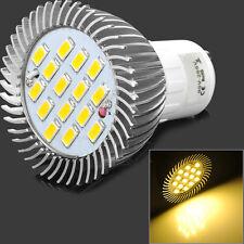 GU10 LED 5630 7.5W Warm White 3500K High Power Spot Light Lamp Bulb AC 85~265V