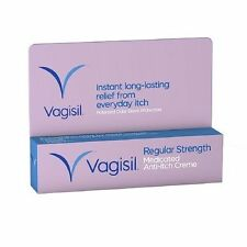 Vagisil Anti-Itch Creme, Regular Strength 1 oz (28 g)