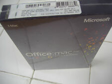 MS Microsoft Office MAC 2011 Home and Business for 1 User 1 Mac =NEW SEALED BOX=
