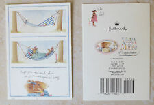 Hallmark Marjolein Bastin Vera Mouse Card Happy Birthday Hope You Rest & Relax