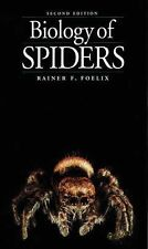 Biology of Spiders, 2nd Edition, Rainer F. Foelix, Good Book