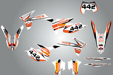 Full  Custom Graphic  Kit - STORM - KTM  EXC 2012 - 2013 stickers / decals