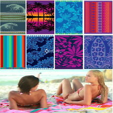 100% Egyptian Cotton JUMBO Velour Beach Towel 180 x 100cm Extra Large Jacquard