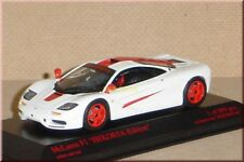 McLaren F1 roadcar - weiß / rot - white / red - Minichamps - 1:43 - LE