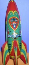 Rocket Ship Mars Patrol-2 Friction Powered Tin toy
