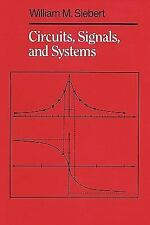 Circuits, Signals and Systems by William M. Siebert (1985, Paperback)