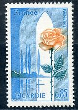 STAMP / TIMBRE FRANCE NEUF LUXE N° 1847 ** REGIONS / PICARDIE / FLORE FLEUR ROSE