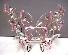 BUTTERFLY ROSALINE LARGE ROSE CRYSTAL 2014 SWAROVSKI #5031520