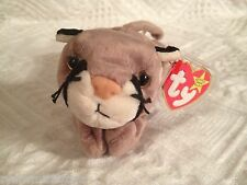 TY CANYON ~THE BABY COUGAR /  MOUNTAIN LION ~Beanie Baby~ MWMT'S ~ RETIRED