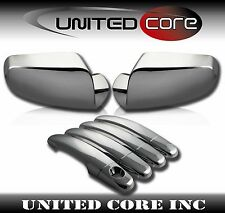 10-17 GMC Terrain Chrome Mirror Cover Chrome 4 Door Handle Cover