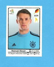 PANINI-EURO 2012-Figurina n.229- NEUER - GERMANIA -NEW-WHITE BOARD