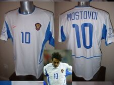 Russia USSR Mostovoi Shirt Jersey Football Soccer Adult XL Trikot Vintage 2002