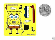 10 Make A Spongebob Squarepants Stickers Kid Party Goody Loot Bag Favor Supply