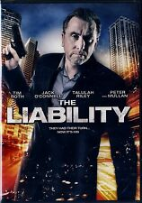NEW DVD // The Liability  // Jack O'Connell, Tim Roth, Peter Mullan, Talulah Ril