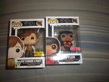Funko Pop Newt Scamander & Pickett hot topic Niffler target exclusive