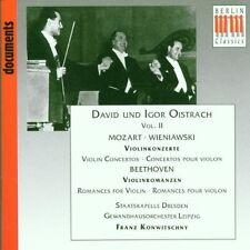 MOZART / BEETHOVEN : Violinkonzerte Franz Konwitschny David & Igor Oistrach