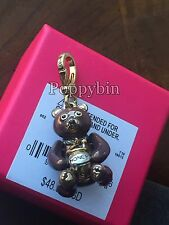 BRAND NEW JUICY COUTURE HONEY BEAR BRACELET CHARM IN TAGGED BOX