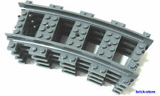 LEGO Trains 4x gebogne Rails (3677,7897,7898, 7938,7939,60051,60052)