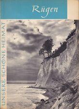Rügen - Unsere schöne Heimat, ein Bildband über die Insel, 1966 Heimatbuch Insel