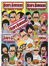 Bob's Burgers TV Series Complete Season 1-5 (1 2 3 4 & 5) NEW 13-DISC DVD SET