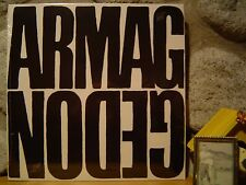 ARMAGGEDON LP/1970 Germany/Heavy Rock/Jeff Beck/Spooky Tooth/Agitation Free