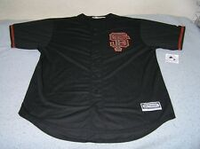 San Francisco Giants Black Cool Base (Big & Tall) Jersey size 2XLT (2XL TALL)