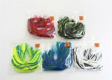 50 Pcs NEW Silicone Replacement Spinnerbait Buzzbait Skirts Fishing Lures jig