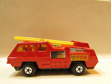 MATCHBOX LESNEY #22 BLAZE BUSTER 1975 ENGLAND BASE -  LOOSE