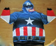 Captain America Civil War Child Hoodie Marvel Comics Brand New Size 10-12