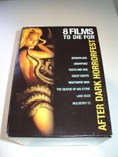 After Dark Horrorfest: 8 Films To Die For Giftset (DVD, 2008, 8-Disc Set) Boxset
