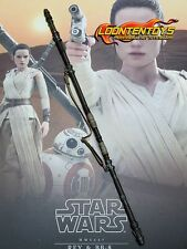 Hot Toys 1/6 MMS337 – Star Wars The Force Awakens Rey staff with strap