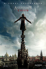 ASSASSIN'S CREED MOVIE POSTER 2 Sided ORIGINAL Advance 27x40 MICHAEL FASSBENDER