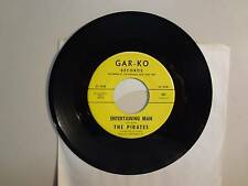"PIRATES: Entertaining Man 2:17-Crystal Ball 2:23-U.S. 7"" 1965 Gar-Ko Records 661"