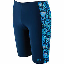 Zoggs Mens Geo Sport Spliced Jammer Navy / Blue size S