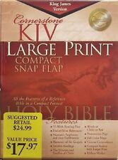 Kjv Large Print Compact Bible (2001, Bonded Leather, Large Type)
