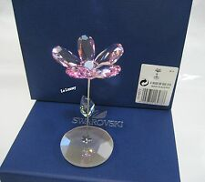 Swarovski Figurine - Lou, Rocking Flower Wild Rose - Retired - 1016277