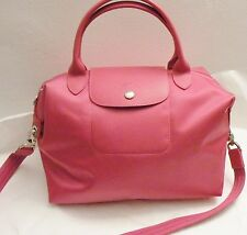 NEW Longchamp Le Pliage Neo Medium Tote Pink