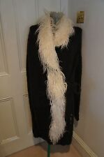 Galliano knitted cardigan coat sz S