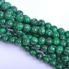 Wholesale 10Pcs Malachite Natural Gemstone Round Spacer Loose Beads 10MM #1
