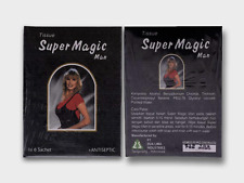 2 Box Super Magic Man Antiseptic Wet Tissue For Sensitive area Strong & Long Sex